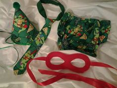 Adorable Ninja Turtle cake smash outfit by designsbylorag on Etsy