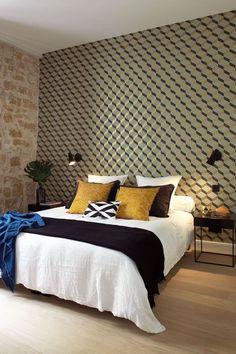 Une chambre qui mixe les styles