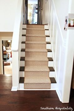 For my basement stairs to cover the bullnose that is raised due to the flooring being laminate