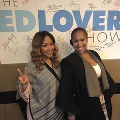 Pics! Erica Campbell  and Tina Campbell  are doing promo for Mary Mary Season 5