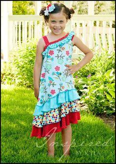 one shoulder maxi dress for girls