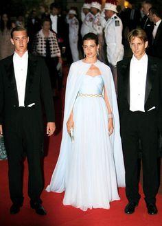 Pierre, Charlotte and Andrea Casiraghi of #Monaco - children of Princess Caroline