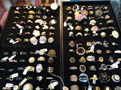 Have you ever seen so many rings??? Stop by 124A Grand Ave Mars PA 16046 Wednesday-Saturday 12-5pm