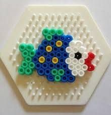 Image result for ocean animal perler bead hexagon