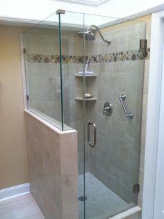 frameless shower door little silver nj