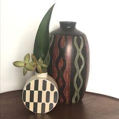 Contemporary Australian ceramics by Erin Lightfoot meet Danish mid century vase by Soholm pottery. Danish, Jewelry Gifts, Objects, Mid Century, Meet, Pottery, Vase, Ceramics, Contemporary