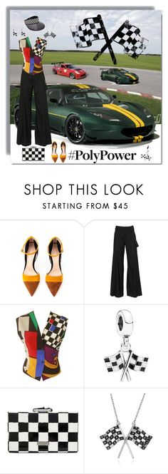 """HorsePower"" by joyce-williams ❤ liked on Polyvore featuring evora, Gianvito Rossi, A.F. Vandevorst, Versace, Pandora, Kate Spade, Belk & Co., Carolina Glamour Collection and PolyPower"