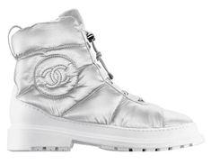 Chanel  Boots en nylon