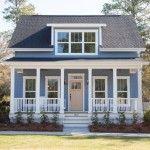 The Waterside Cottage at Ocean Isle Beach by Cardinal Builders, NC.