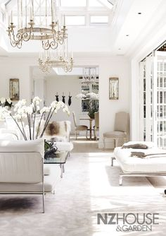 Casas Y Jardines Del Artículo A White London Mansion Nz House Garden European Antiques Interior Design