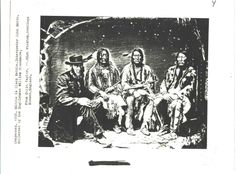 1858 black kettle and cheyenne peace chiefs with interpreter john