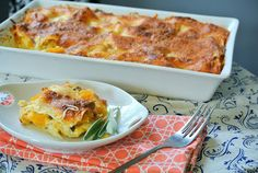 The Girl with the Wooden Spoon: Butternut Squash and Sage Lasagna