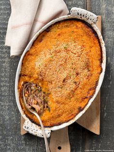 Duck Parmentier with Sweet Potato- No Salt Recipes, Duck Recipes, Asian Recipes, Healthy Recipes, Ethnic Recipes, Savoury Dishes, Food Dishes, Batch Cooking, Cooking Recipes