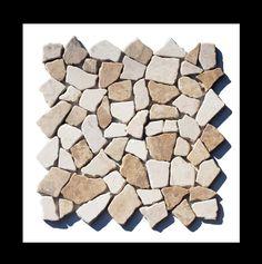 Marmor Bruchstein Mosaik Fliese   Bruchsteinmosaik Eignet Sich Als  Wandfliesen Und Bodenfliesen Für Fast Alle Bereiche