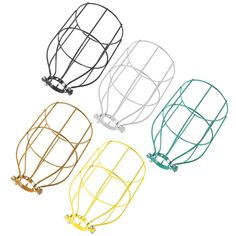 Only US$6.59, buy best Vintage Industrial Steel Light Bulb Guard Clamp On Metal Pendant Light Lamp Cage sale online store at wholesale price.US/EU direct.