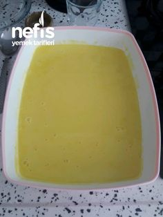 Gerçek Limonlu Dondurma Tarifi - Nefis Yemek Tarifleri Pudding, Desserts, Food, Pasta, Tailgate Desserts, Deserts, Custard Pudding, Essen, Puddings