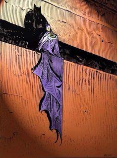 Batman Illustration by Moebius (Jean Giraud) Jean Giraud, Arte Dc Comics, Bd Comics, Science Fiction, Im Batman, Batman Art, Comic Books Art, Book Art, Illustrations