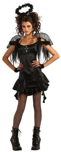 Teen Gothic Angel Costume - Teenage Costumes - AngelCostumes.org