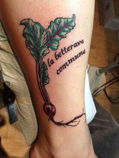 la betterave commune: the common beet.