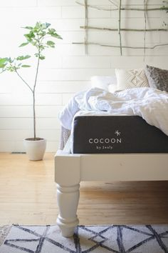 Vintage Modern Bedroom Makeover with Cocoon by Sealy + a giveaway!