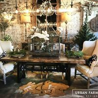 Image may contain: people sitting, table and indoor Farmhouse Interior, Farmhouse Style, Farmhouse Decor, Urban Farmhouse Designs, People Sitting, Shop Interiors, Table Settings, Indoor, Table Decorations