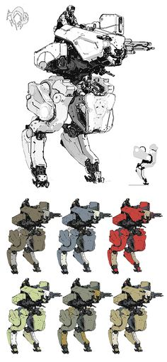 "RETYPE, ajtron: ""Metal Gear Roo"" Concept art for Metal..."