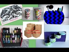 10 Awesome Organization Crafts You Need To Try With Recycling Carton Boxes- Compilation DIY - YouTube