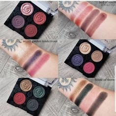 Wet N wild rebel rose collection 2019 Dragon Light, Wet And Wild, Color Stories, Colorful Makeup, Swatch, Eyeliner, Eye Makeup, Eyeshadows