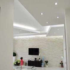 Decoración y diseños de techos con pladur Best Ceiling Designs, House Ceiling Design, Ceiling Design Living Room, Interior Design Living Room, Living Room Designs, Living Room Decor, Living Rooms, Bedroom Decor, Cheap Diy Home Decor