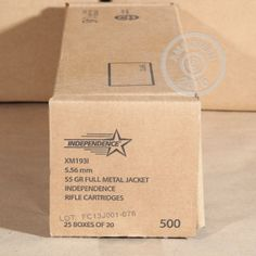 Made in Israel 5.56x45mm NATO 55 GRAIN M193 FMJ BT (INDEPENDENCE) (500 ROUNDS)These rounds are hot make sure your rifle can shoot them!(Ar 15s) usually can.Ammo man gives free shipping over 99$!!!!!!