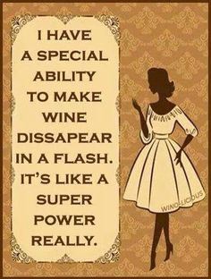 Wine Super Power!