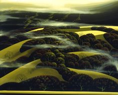 When the Fog Rolls In by Eyvind Earle