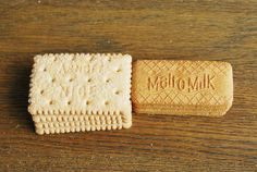 Nice biscuits and Malt o Milk