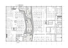 Built by schöne räume architektur innenarchitektur in Niedernberg, Germany with date Images by Oliver Tamagnini. Place of creativity: Working in modern trend laboratories Architectural office schöne räume develops creative spaces. Office Layout Plan, Office Plan, Interior Design Layout, Layout Design, Floor Layout, Commercial Design, Tool Design, Design Ideas, Office Interiors