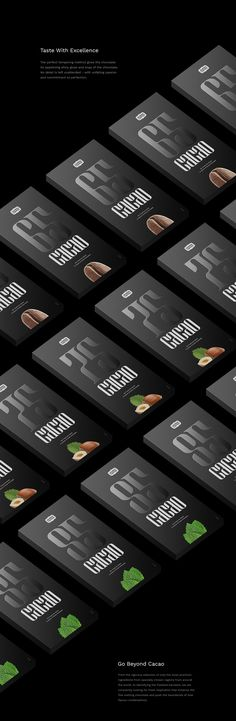 Designer: Michael Chernykh Project Type: Produced, Commercial Work Packaging Content: Chocolate Location: Russia From the rigorous se. Cocoa Chocolate, Chocolate Sweets, Chocolate Packaging, Packaging Design Inspiration, Logo Design, Coffee, Dark, Creative Package, Package Design