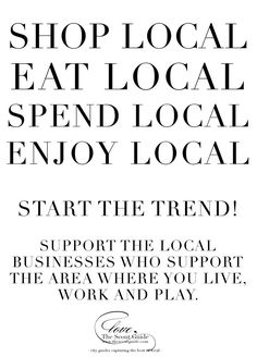 When you shop, you vote. Vote for local, fresh, real, and whole foods.