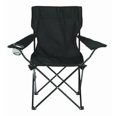 2a803c80cae Garden Treasures Black Steel Chair at Lowes.com