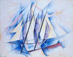Charles Demuth, Sail: In Two Movements 1919