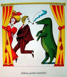 La Petite Famille, Sesyle Joslin, illustrations by John Alcorn.