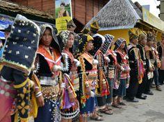 Harvest Festival at Kadazan Dusun Culture Centre, Penampang, Sabah, Malaysia. 30-31 May 2013.