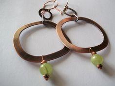 Copper Heaven 2. Afgan Jade Copper by georgieandjetdesigns on Etsy, $38.00