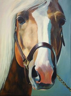 Palomino horse art by Alicia Underhill                                                                                                                                                     More