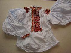 Pánská košile, Uherský Ostroh. Folk clothing from Uherský Ostroh (Czech Republic).