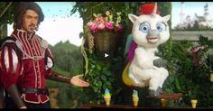 O comercial mais bizarro com unicórnio que você vai ver