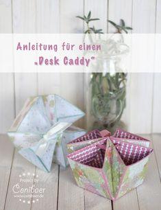 """Anleitung für einen """"Desk Caddy"""" - { Conibaers creative desk } Constanzes kreatives Blog"""