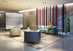 """A boutique feel is planned for Imagine's lobby. """"We made a concerted effort to bring something more edgy to Scarborough,"""" says Ron Herczeg, v-p of Insoho Developments."""