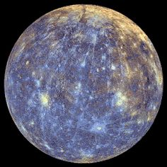 Hypnotic Mercury  That's over 1,000 images of the planet Mercury stitched together in a copper-blue disco ball of hypnotic animation. Launched in 2004, NASA's MESSENGER spacecraft has been studying the smallest member of the Solar System for nearly two years with phenomenal success.