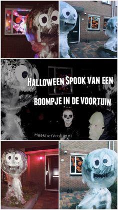 Maak een heel groot spook van een klein boompje. Grappig en niet te eng voor de kleintjes. Halloween Make, Groot, Home Furniture, Dreams, Movies, Movie Posters, Home Goods Furniture, Films, Film Poster
