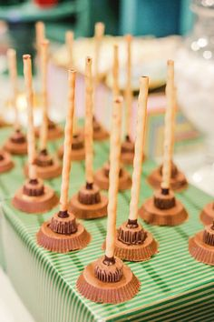 Broom-inspired Treats from a Harry Potter Birthday Party via Kara's Party Ideas | KarasPartyIdeas.com | The Place for All Things Party! (12)