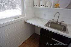 One Genius Idea Freed Up Tons of Space In This Tiny Homecountryliving